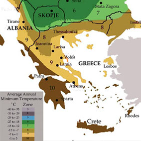 climate of greece