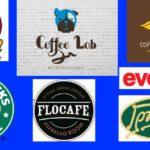 coffee brands logo's