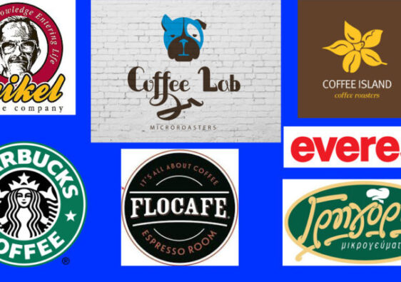coffee brands logo's