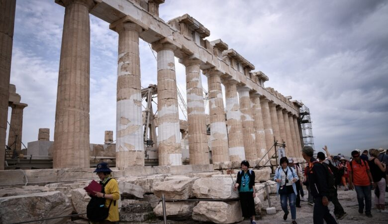 The Restoration of the Parthenon Temple at the Acropolis